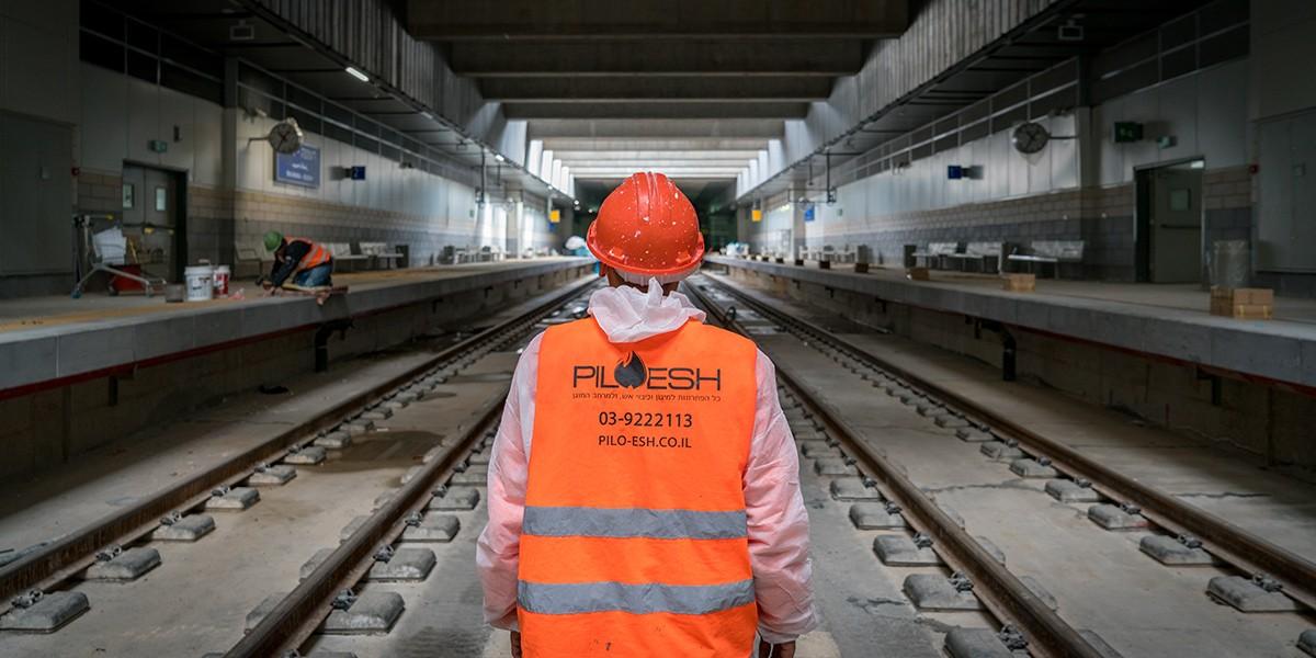 פרויקט מיגון אש ברכבת התחתית